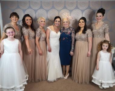 Abi Griffiths wedding in Chorley Lancashire